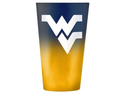 West Virginia Mountaineers Boelter Brands 16oz Ombre Pint Glass