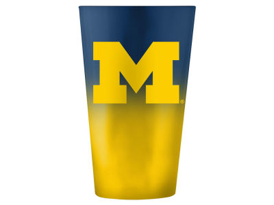 Michigan Wolverines 16oz Ombre Pint Glass