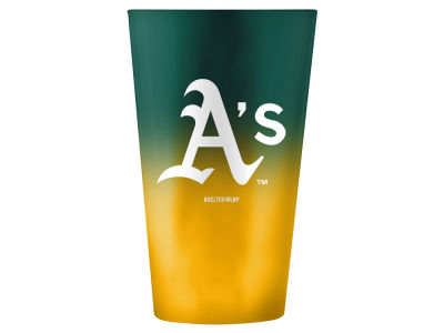 Oakland Athletics 16oz Ombre Pint Glass