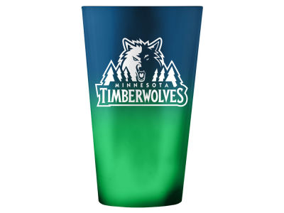 Minnesota Timberwolves 16oz Ombre Pint Glass
