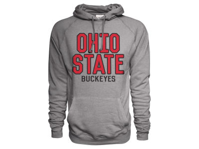 Ohio State Buckeyes NCAA Men's Football Vintage Triblend Pulliover Hoodie