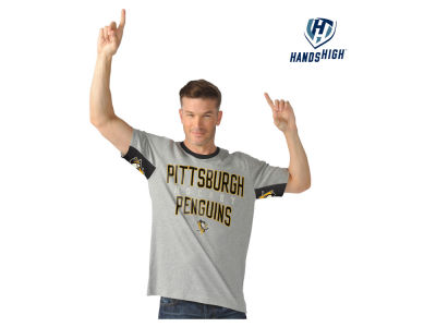Pittsburgh Penguins GIII NHL Men's Hands High Cut Back T-Shirt