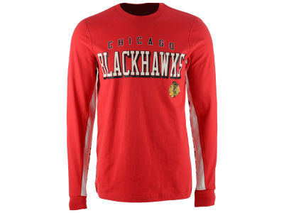 Chicago Blackhawks GIII NHL Men's Hands High Front Four Long Sleeve T-Shirt
