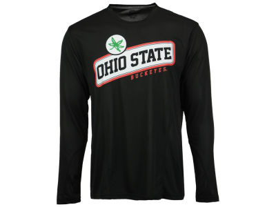 Ohio State Buckeyes NCAA Men's Slant Long Sleeve T-Shirt