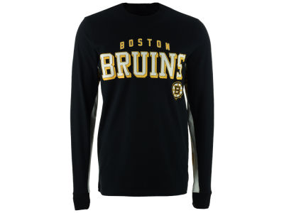 Boston Bruins G-III Sports NHL Men's Hands High Front Four Long Sleeve T-Shirt