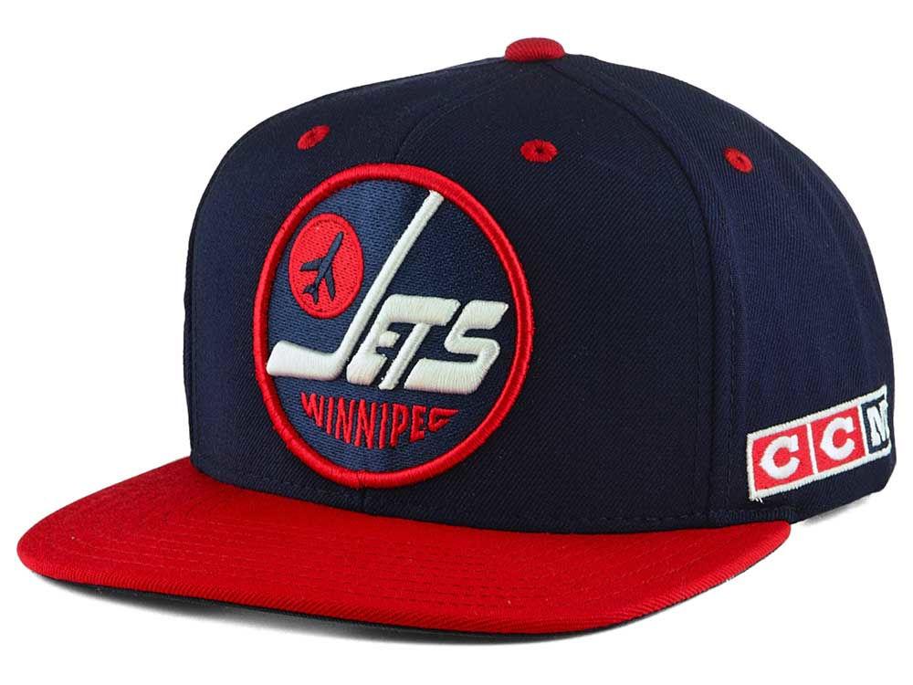 Winnipeg Jets Reebok NHL Heritage Classic Snapback Cap  1e3c85d30dd