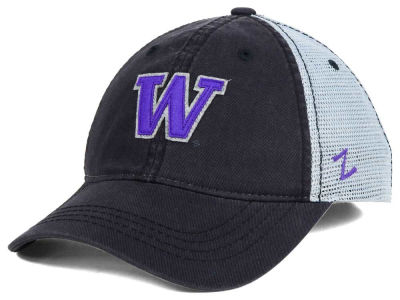 Washington Huskies Smokescreen Adjustable Hat