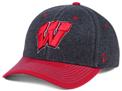 Wisconsin Badgers Zephyr NCAA Anchorage Adjustable Cap