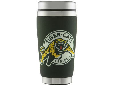 Hamilton Tiger-Cats 16oz Stainless Steel Travel Tumbler