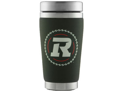 Ottawa RedBlacks 16oz Stainless Steel Travel Tumbler