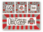 Ohio State Buckeyes 4-Section Platter Kitchen & Bar