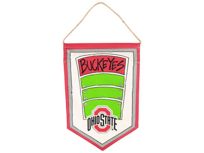 Ohio State Buckeyes 12x18 Canvas Hanger