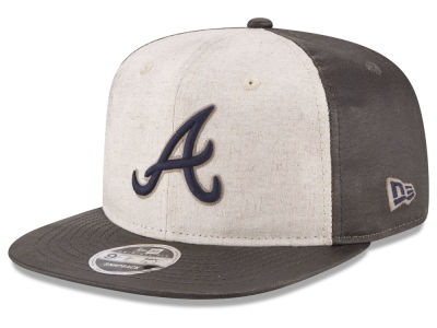 Atlanta Braves New Era MLB Vintage Waxed 9FIFTY Snapback Cap