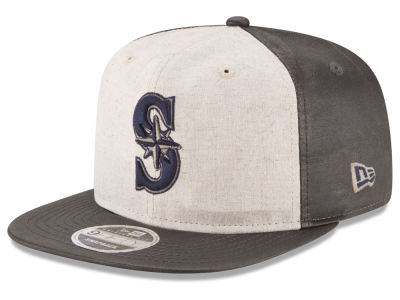 Seattle Mariners New Era MLB Vintage Waxed 9FIFTY Snapback Cap