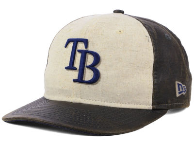 Tampa Bay Rays MLB Vintage Waxed 9FIFTY Snapback Cap