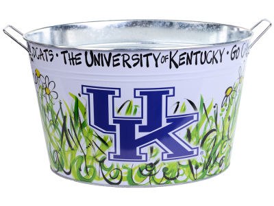 Kentucky Wildcats Metal Bucket 15x9x10.5