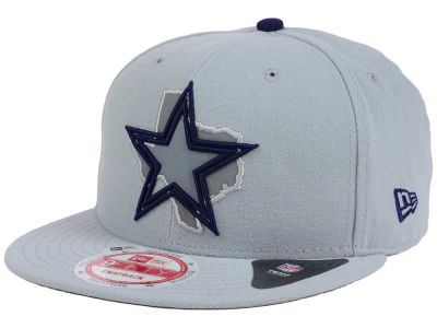 Dallas Cowboys New Era NFL TC State Flec 9FIFTY Snapback Cap