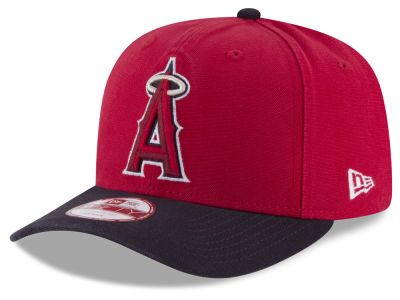 Los Angeles Angels MLB Vintage Washed 9FIFTY Snapback Cap
