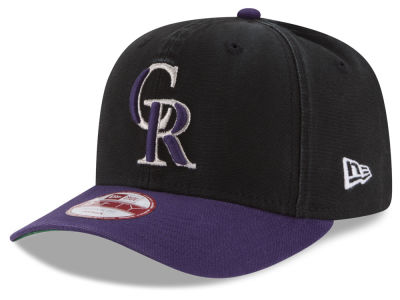 Colorado Rockies MLB Vintage Washed 9FIFTY Snapback Cap