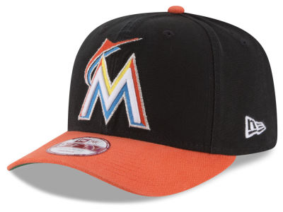 Miami Marlins MLB Vintage Washed 9FIFTY Snapback Cap