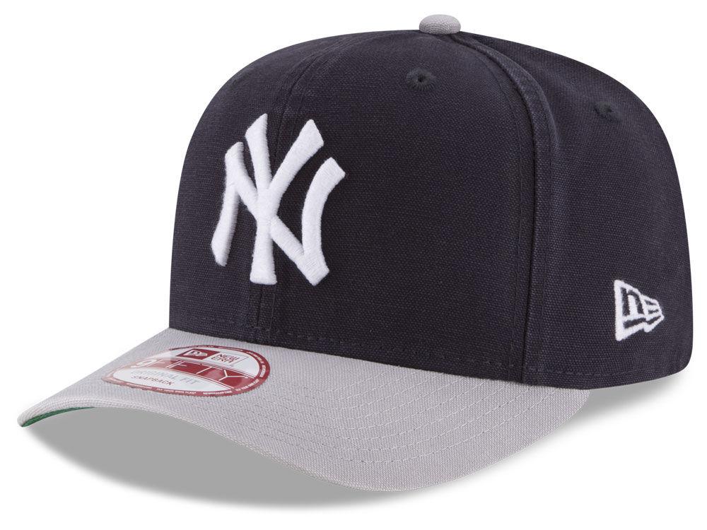 New York Yankees New Era MLB Vintage Washed 9FIFTY Snapback Cap ... 5918b700f81