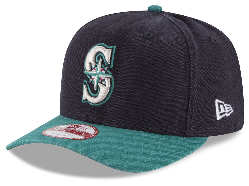 Seattle Mariners MLB Vintage Washed 9FIFTY Snapback Cap  c25f82a80dc1