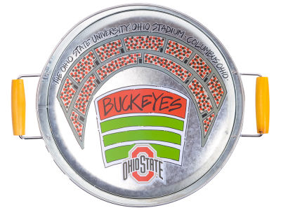 Ohio State Buckeyes 17x13.75 Metal Tray