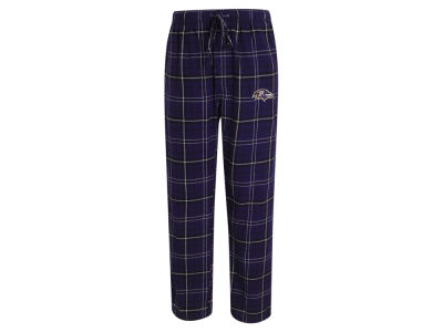 Baltimore Ravens Concept Sports NFL Men's Ultimate Flannel Sleep Pants