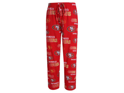 San Francisco 49ers Concept Sports NFL Men's Sweep Sleep Pants