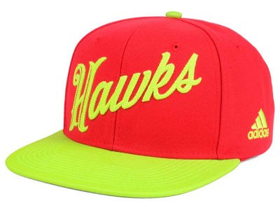 Atlanta Hawks adidas Seasons Greeting Snapback Cap