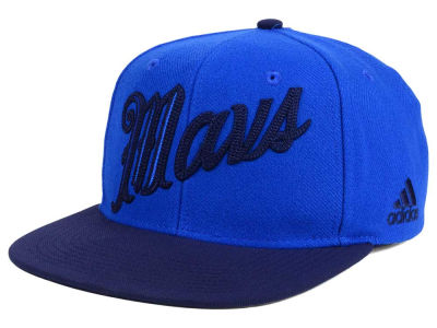 Dallas Mavericks adidas NBA Seasons Greeting Snapback Cap