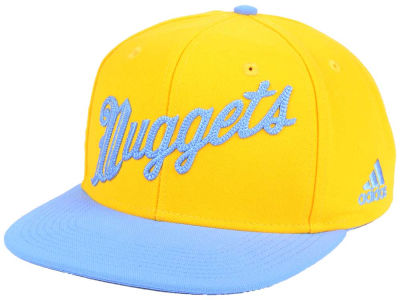 Denver Nuggets adidas NBA Seasons Greeting Snapback Cap