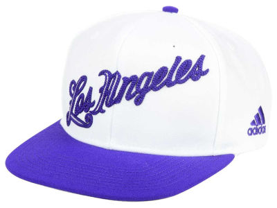 Los Angeles Lakers adidas NBA Seasons Greeting Snapback Cap