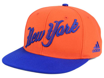 New York Knicks adidas NBA Seasons Greeting Snapback Cap
