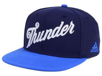 Oklahoma City Thunder adidas Seasons Greeting Snapback Cap
