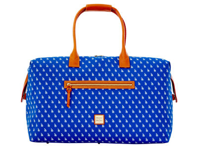 Los Angeles Dodgers Dooney & Bourke Signature Duffle