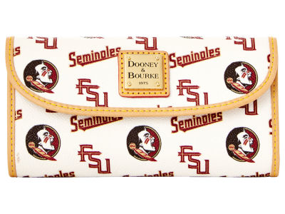 Florida State Seminoles Dooney & Bourke Continental Clutch