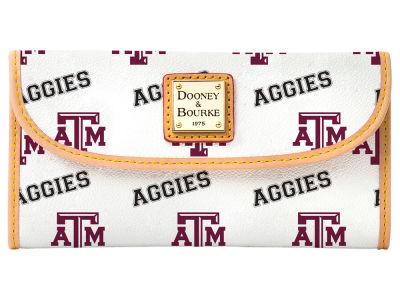 Texas A&M Aggies Dooney & Bourke Continental Clutch