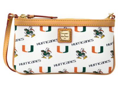 Miami Hurricanes Dooney & Bourke Large Wristlet