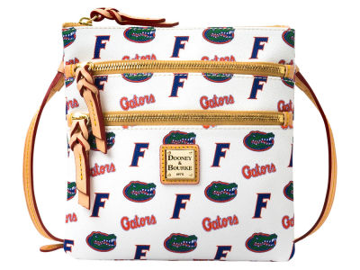 Florida Gators Dooney & Bourke Triple Zip Crossbody Bag