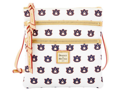 Auburn Tigers Triple Zip Crossbody Bag