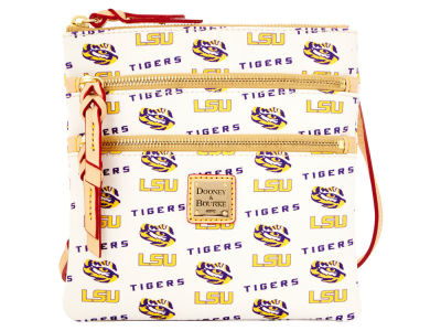 LSU Tigers Dooney & Bourke Triple Zip Crossbody Bag