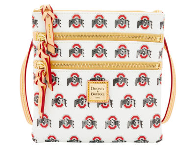Ohio State Buckeyes Dooney & Bourke Triple Zip Crossbody Bag