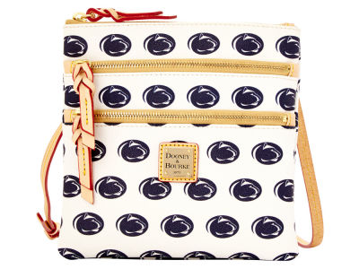 Penn State Nittany Lions Dooney & Bourke Triple Zip Crossbody Bag