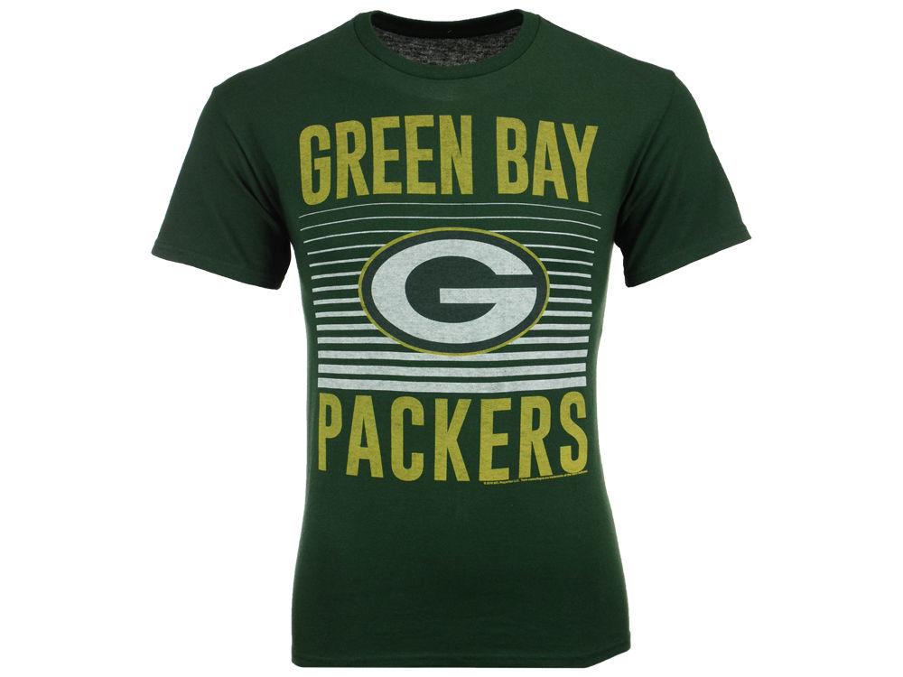 896472a74 Green Bay Packers NFL Men s Block Shutter T-Shirt