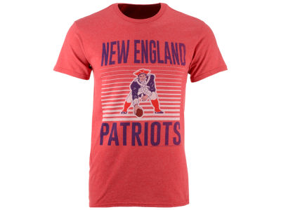 New England Patriots NFL Men's Block Shutter T-Shirt
