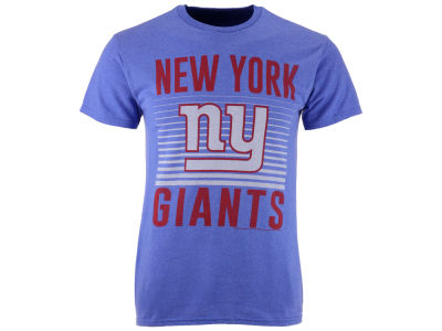 New York Giants NFL Men's Block Shutter T-Shirt