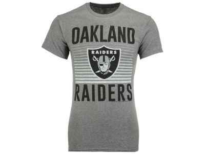 Oakland Raiders NFL Men's Block Shutter T-Shirt