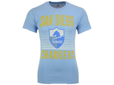 Los Angeles Chargers NFL Men's Block Shutter T-Shirt