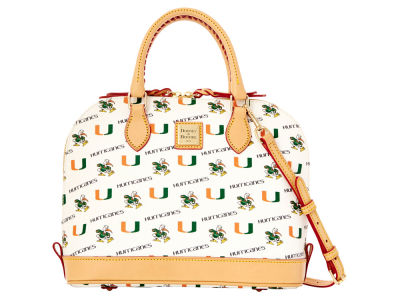 Miami Hurricanes Dooney & Bourke Zip Zip Satchel